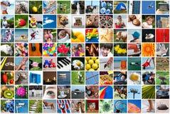 Collage di vita Immagini Stock Libere da Diritti