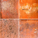 Collage from different ancient texture Stock Photography