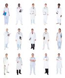 Collage of diverse doctors Royalty Free Stock Photo
