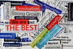 Collage economy5 Stock Photo