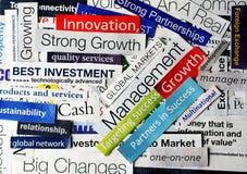 Collage economy4 Stock Photography