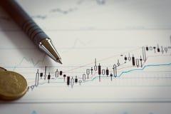 Collage eingeweiht betriebswirtschaftlichen Problemen Stockfoto