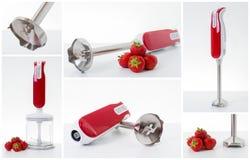 Collage elettrico del minipimer Immagini Stock
