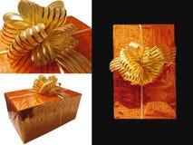 Collage, emballage cadeau Photo libre de droits