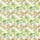 Collage floreale d'annata di Chinoiserie scuro royalty illustrazione gratis