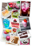Collage of food Royalty Free Stock Photo
