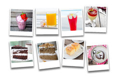 Collage of food Royalty Free Stock Images