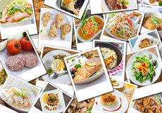 Collage of food Royalty Free Stock Image
