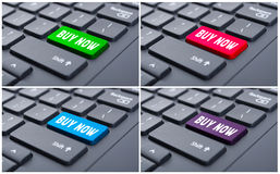 Collage of four pictures with buy now button Royalty Free Stock Image