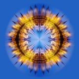 collage fractal moscú Izmailovo Kremlin Foto de archivo libre de regalías