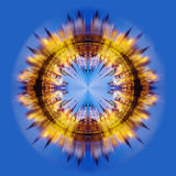 collage fractal mosca Izmailovo Kremlin Fotografia Stock Libera da Diritti