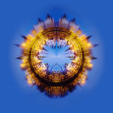 collage fractal moskou Izmailovo het Kremlin Royalty-vrije Stock Afbeeldingen