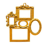 Collage frame Stock Images