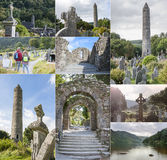 Collage of Glendalough Royalty Free Stock Photography