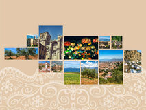 Collage of Granada,Spain my photos Royalty Free Stock Photo