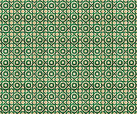 Collage of green pattern tiles in Portugal Stock Images