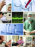 Collage Healthcare Stock Photos