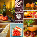Collage healthy eating Royalty Free Stock Photos