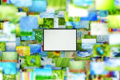 Collage of images background Royalty Free Stock Photos