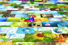 Collage of images background Stock Photo
