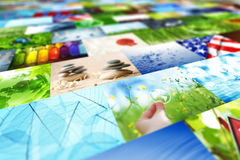 Collage of images Royalty Free Stock Photo