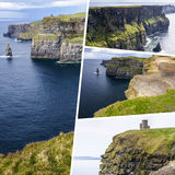 Collage of Ireland images my photos Stock Photography