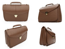 Collage of isolated handbags Stock Photography
