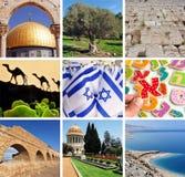 Collage israelí imagen de archivo libre de regalías