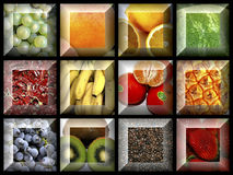 Collage of Israeli fruit Royalty Free Stock Image