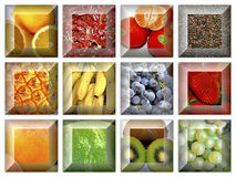 Collage of Israeli fruit Royalty Free Stock Photography