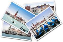 collage italy venice Royaltyfria Foton