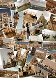 Collage of landmarks in Venice, Italy Stock Photography