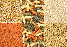 Collage legumes Royalty Free Stock Image