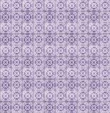 Collage of lilac pattern tiles in Portugal Stock Image