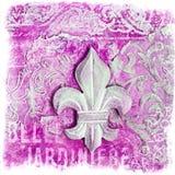 Collage lile de fleur Royalty Free Stock Images