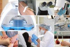 Collage médical Image libre de droits