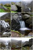 Collage mahon falls Stock Images