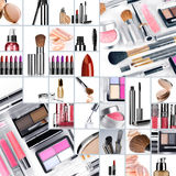 Collage make up Stock Images