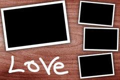 Collage, marcos vacíos Fotografía de archivo libre de regalías