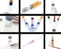 Collage of medical products Stock Photography
