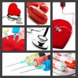 Collage medico Immagini Stock