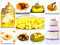 Collage Menu royalty free stock images