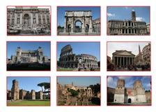 Rome collage Stock Photo