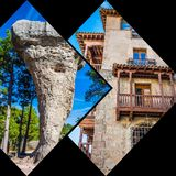 Collage of o Cuenca Spain Europe. Collage of o Cuenca Spain Europe Stock Image