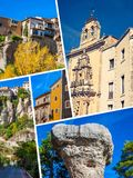 Collage of o Cuenca Spain Europe. Collage of o Cuenca Spain Europe Stock Photography