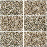 Collage of oat, rye, barley, wheat cereal flakes. Food background. Healthy lifestyle concept royalty free stock photos