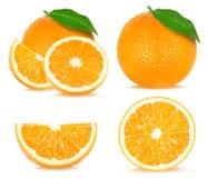 Collage orange Photo libre de droits