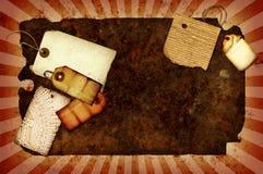Collage oxidado Fotografía de archivo