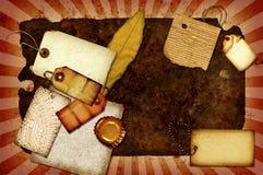 Collage oxidado Foto de archivo libre de regalías