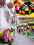 Collage of Peru traditional culture images - travel background ( Stock Image